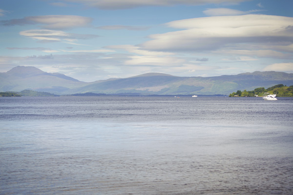 loch lomond, silver photgraphy