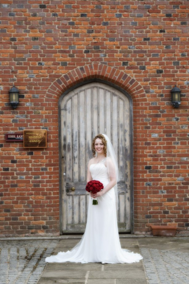 Layer-Marney-Tower, Pengelly-Photography, bride, red  rose bouquet, traditional vintage flower company