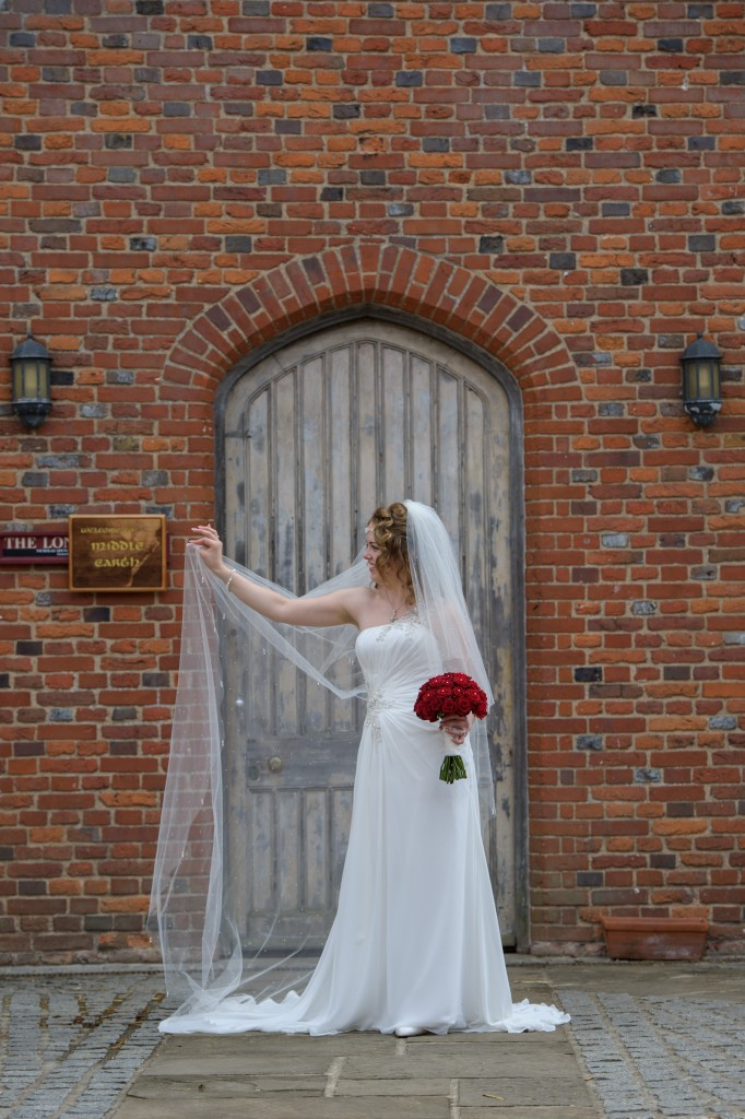 Layer-Marney-Tower, Pengelly-Photography, bride, red rose bouiquet - traditional vintage flower company