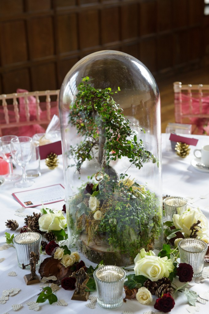 Layer-Marney-Tower, Pengelly-Photography, lord of the rings table centrepiece