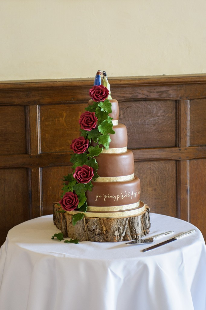 Layer-Marney-Tower, Pengelly-Photography, lord of the rings wedding cake
