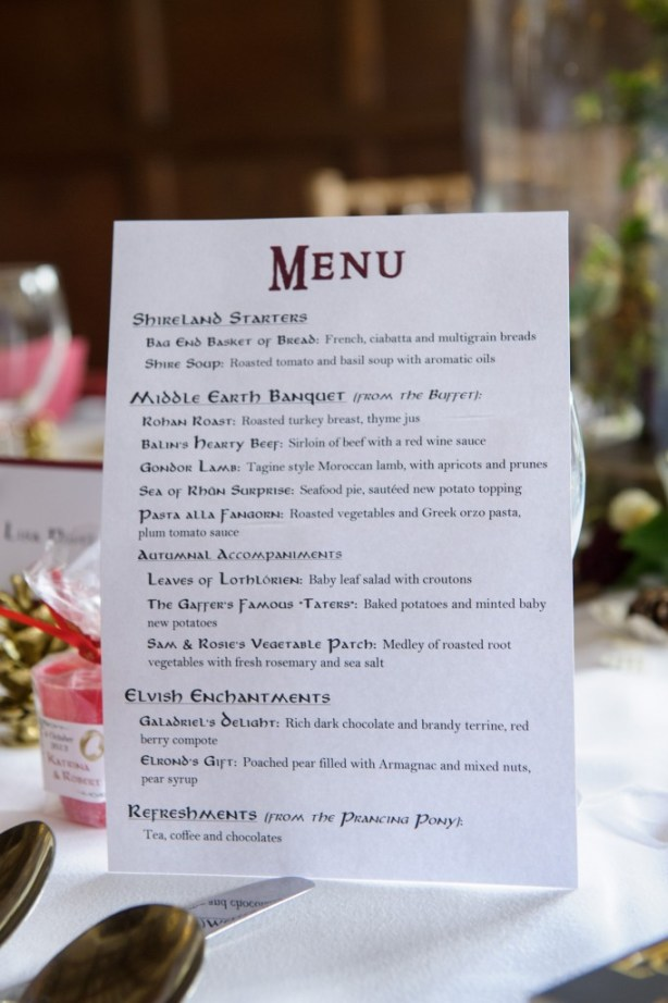 Layer-Marney-Tower, Pengelly-Photography, lord of the rings banquet menu