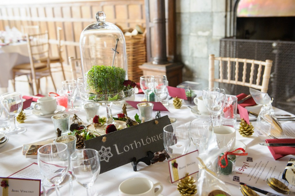 Layer-Marney-Tower, Pengelly-Photography, lord of the rings table centrepieces