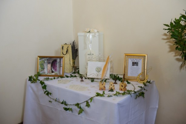 Layer-Marney-Tower, Pengelly-Photography, guest book and present table