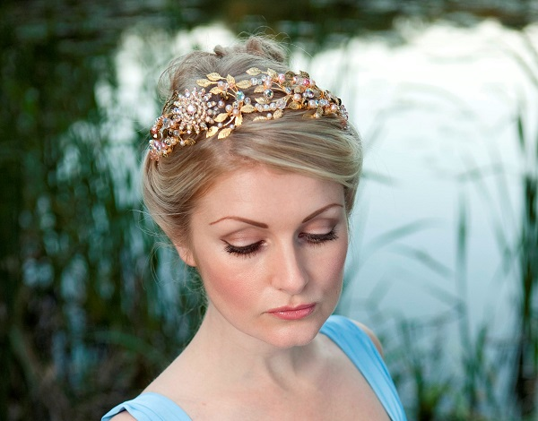 Samantha Walden , Charlotte Tiara , Images by Dominic Mifsud, Historically inspired headdresses , Historically inspired tiaras, vintage tiaras