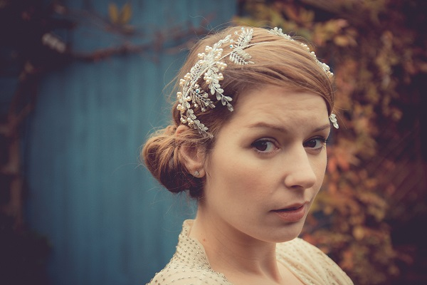 Samantha Walden , Laurel Headpiece, Image by Andy Platts Photography, Historically inspired headdresses , Historically inspired tiaras, vintage tiaras