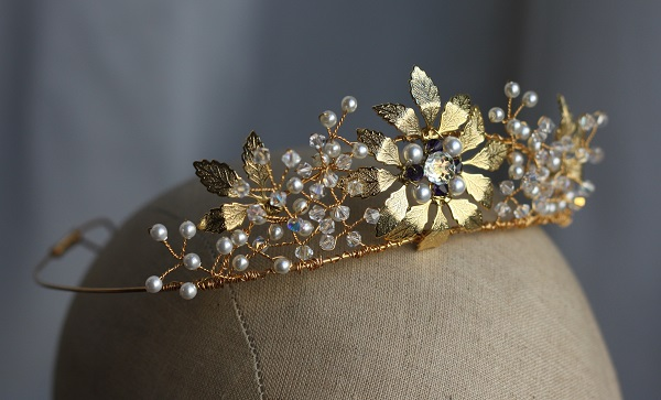 Samantha walden , Starlet tiara, Historically inspired headdresses, vintage tiaras, historically inspired