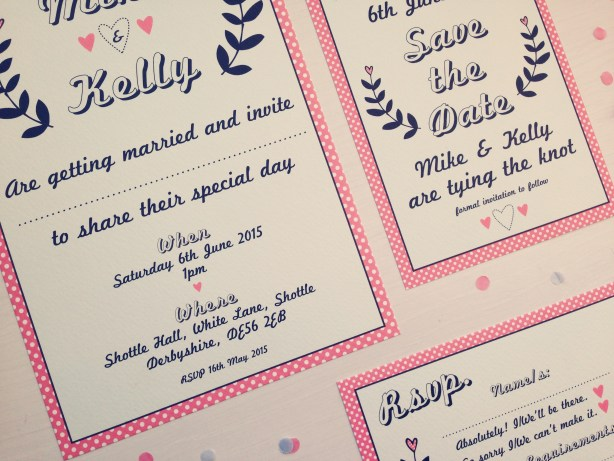 The Strawberry Shake Collection 2, wedding stationery, best day ever