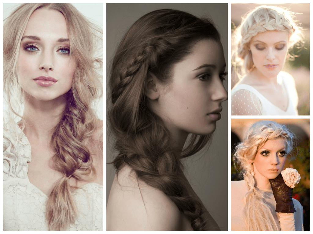 trending bridal hairstyles and make up themes in 2014