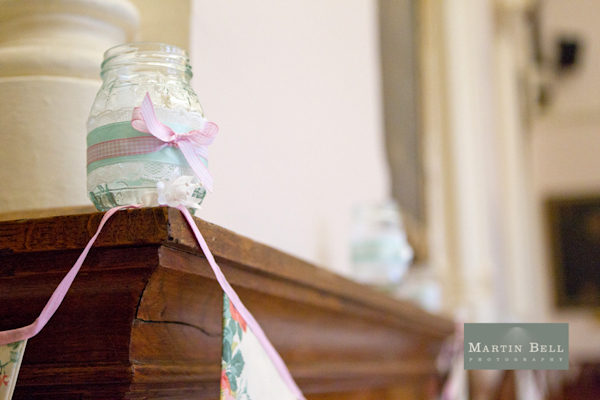 Winchester wedding photography, Martin Bell Photography, DIY decor, DIY bunting