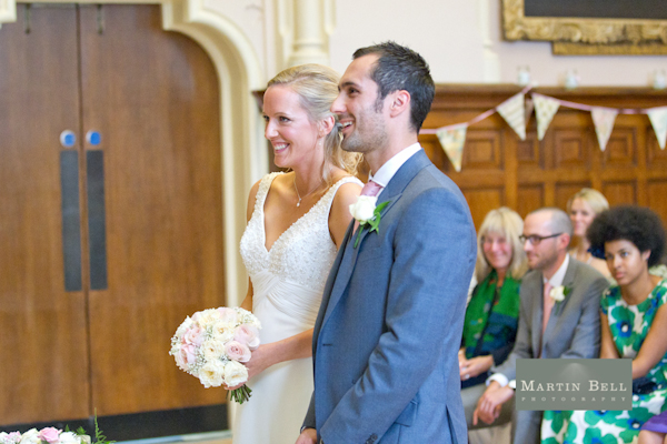 Winchester wedding photography, Martin Bell Photography, wedding ceremony