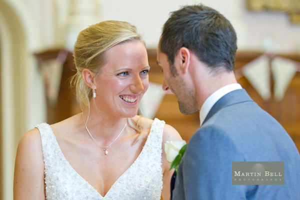 Winchester wedding photography, Martin Bell Photography, exchange of rings
