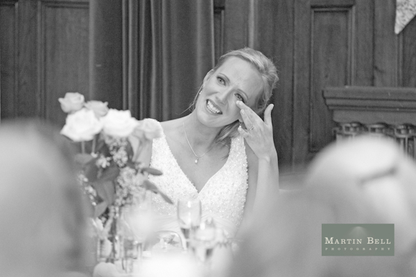 bride, bunting, Winchester wedding photography, Martin Bell Photography,