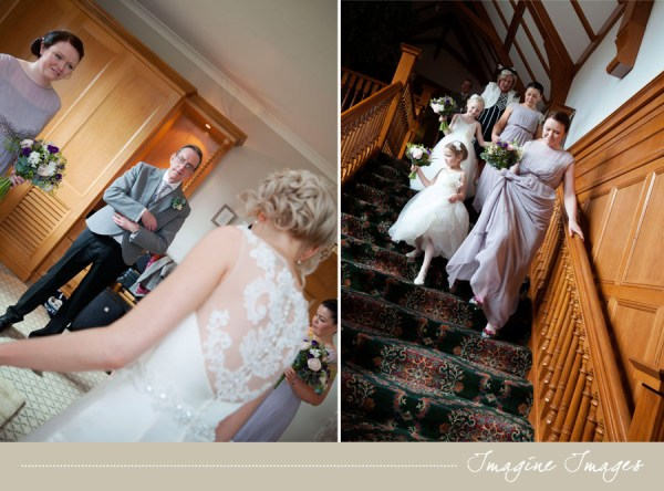 bride, father of the bride, bridesmaids, lochgreen house, imagine images