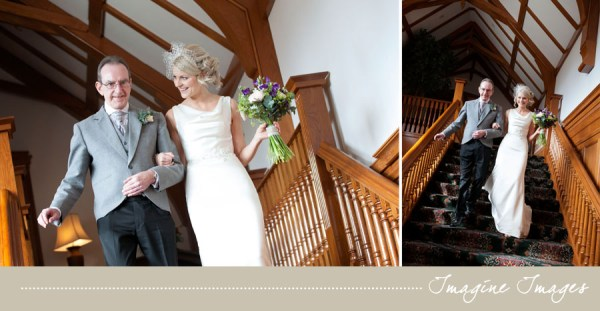 bride, father of the bride, lochgreen house, imagine images