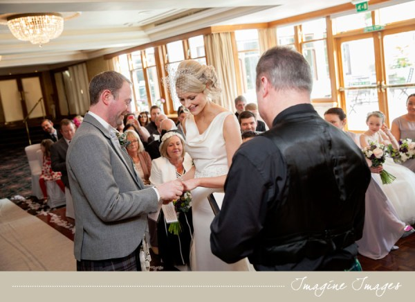 wedding ceremony, imagine images, lochgreen house