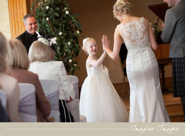 lochgreen house, wedding ceremony, imagine images