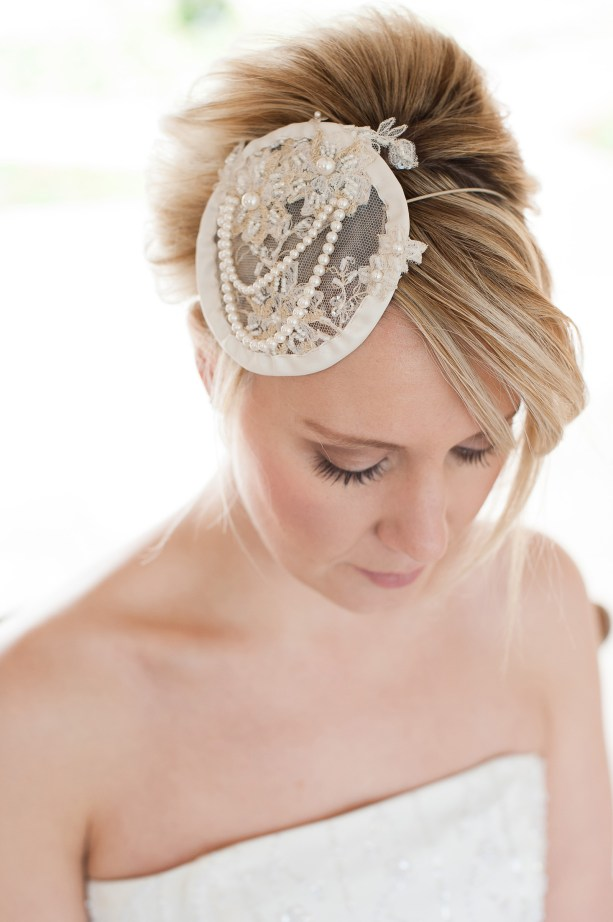 MrsPandPs Sunday Morning Cuppa, Wedding Blog Catch Up, Katie Vale designs, Spring 2014 collection, bridal fascinators, headbands, image by Fiona Kelly Photography