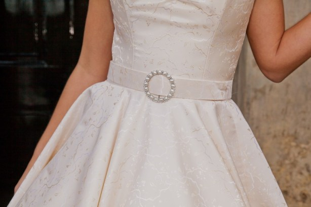 Kitty  - Love & Romance Collection - Qiana Bridal (waist detail)