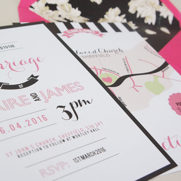 Writer, becky lord  design, wedding stationery