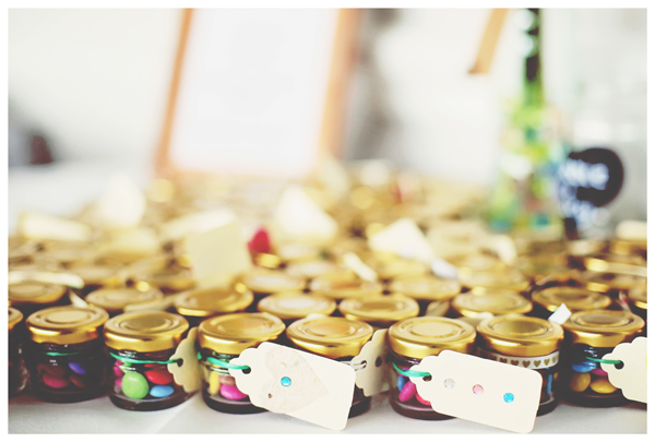smartie wedding favours, olivia whitbread roberts photography