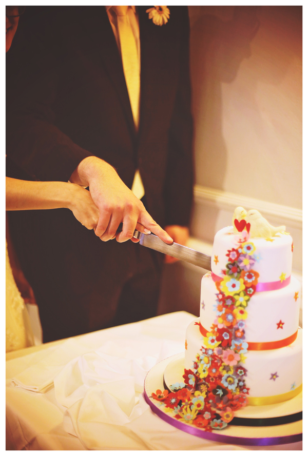 cutting the cake, wedding reception, olivia whitbread roberts photography