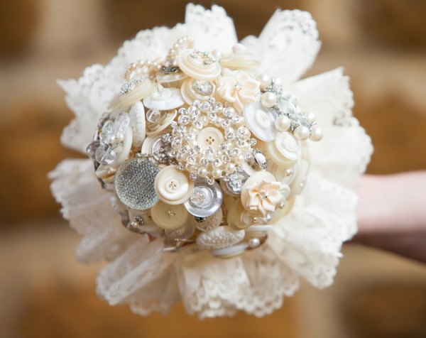 vintage wedding, Hand crafted alternative bouquets, Bride as a Button