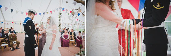 Cloud9-Wedding-Photography, wedding ceremony, humanist ceremony, handfasting, tying the knot