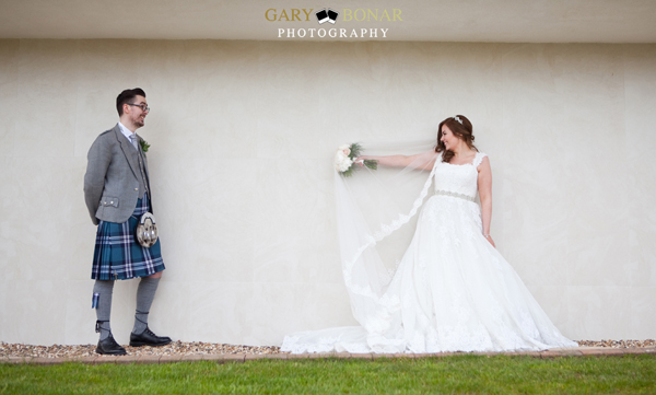 gary bonar photo, lochside house hotel, bride and groom