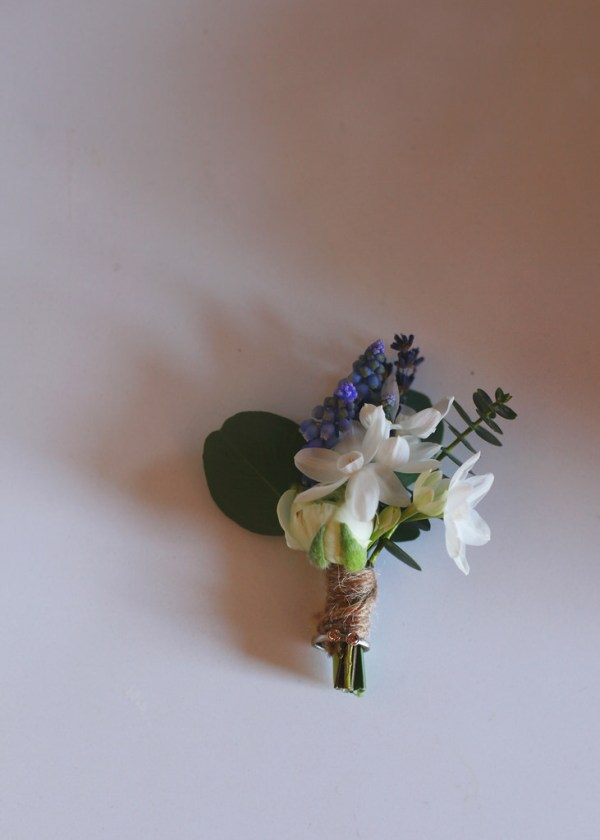 nicky cooney photo, i heart flowers glasgow, buttonhole