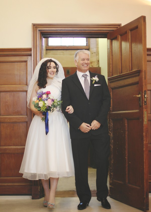 nicky cooney photo, bride and father of the bride