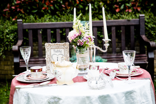 wedding table setup,  Vintage Tea Party inspired Wedding Shoot , Styling by 9ice Events, Photography by Elysium Photography