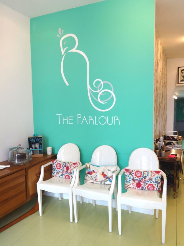 reception, The parlour London, bridal hair, vintage hair, braids, blow drys