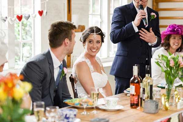 Bishton hall wedding, wedding speech , Cris lowis photo