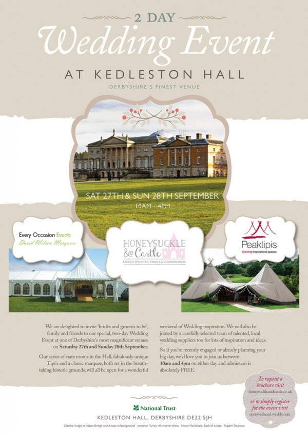 2-day-wedding-event, kedleston hall, peak tipis, every occasion marquee hire, honeysuckle and castle events