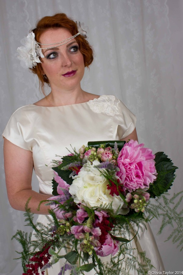Images by Olivia Taylor Photography , Bridal Accessories,  Jewellery and styling - Susan Dick Jewellery, Hair and Make Up - Pin Up Pro, Floristry - First Blush Flowers, Dresses - Flossy and Dossy, collaborative bridal shoot