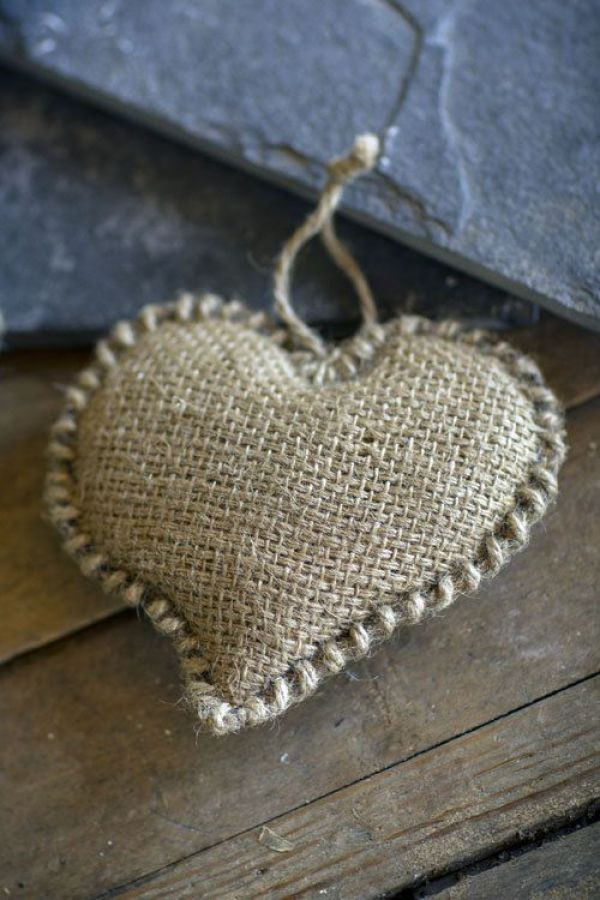 hessian heart