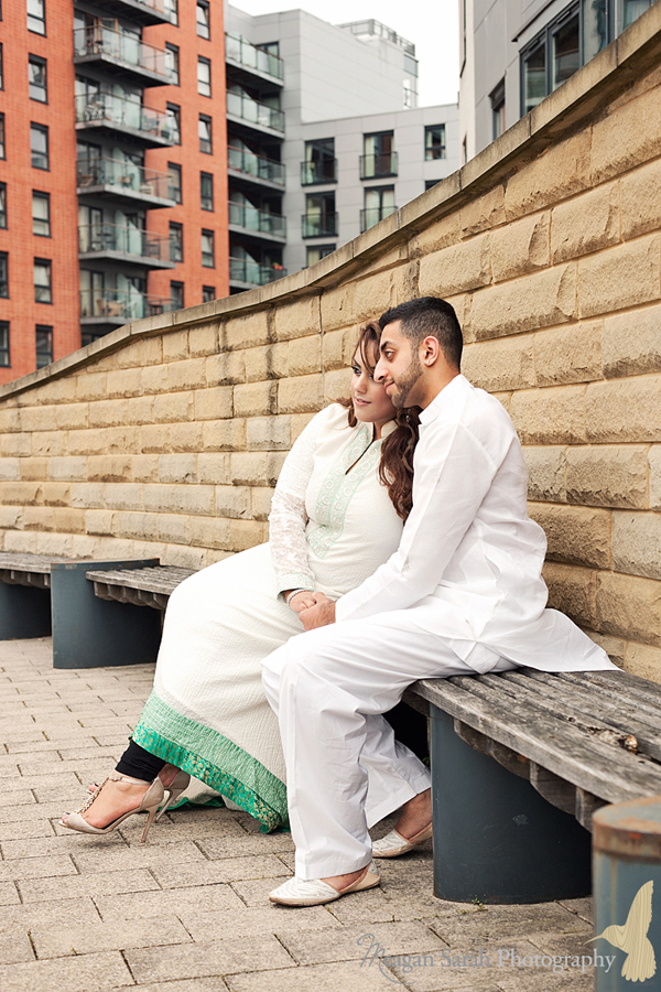 engagement shoot, clarence docks leeds , meagan sarah photography , urban engagement shoot
