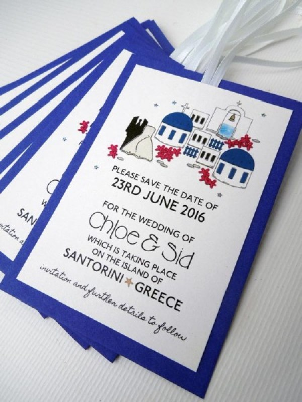 MrsPandPs Sunday Morning Cuppa, Wedding Blog , Blog Catch up, Santorini invitation, quirky wedding stationery, illustrated wedding stationery, bunnydelicious