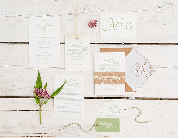 Rustic_Romance_Range, Oyster and Pearl, bespoke wedding stationery , stling by Louise Beukes, images by wedding belles photography