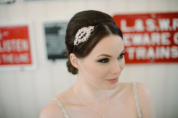 Tantrums and Tiaras 2015 Maharaja Collection, Maddison, Pearl and diamante hair vine