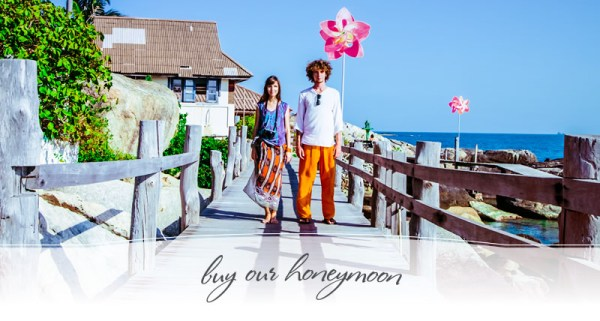 buy our honeymoon, honeymoon registry, honeymoon gift list