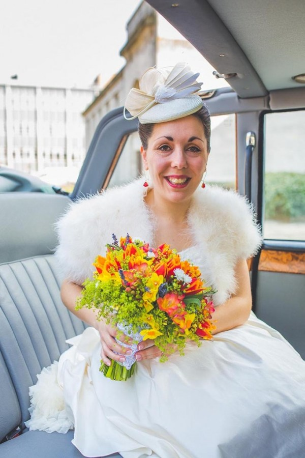 bride, wedding car, nick rutter photo