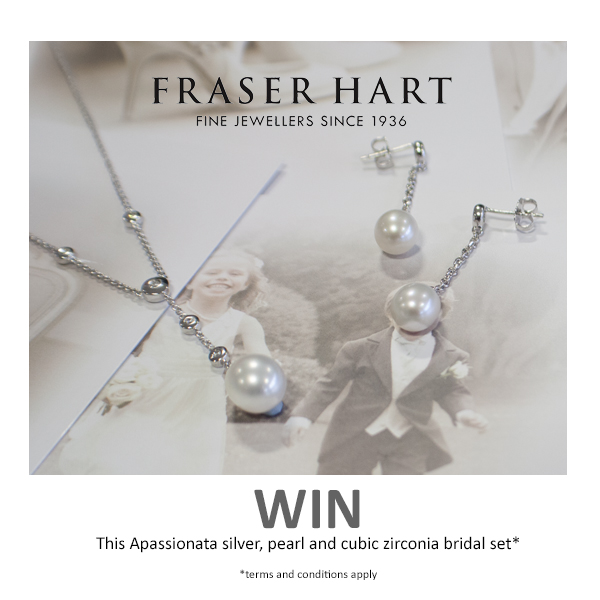 Apassionata brand, bridal jewellery, Fraser Hart jewellery, giveaway, Mrspandp Competition, pearl earrings, pearl necklace, Mrspandp Competition, MrsPandPs Sunday Morning Cuppa, Wedding Blog, Blog Catch up