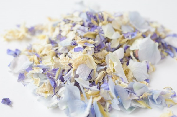 ShropshirePetals.com,  Summer Sky , wedding confetti, colourful confetti