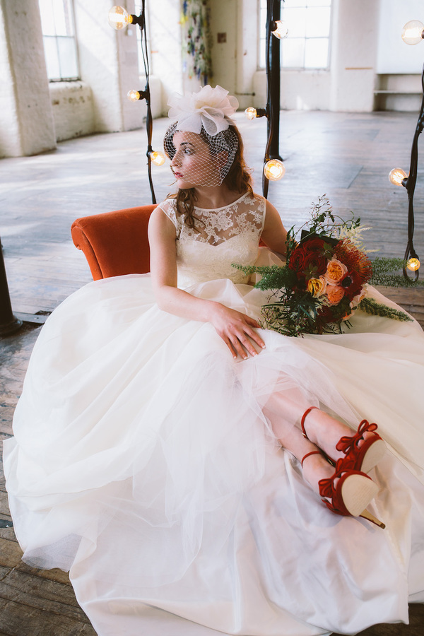 Alexis-red-shoe, silver-sixpence, bridal-shoes, charlotte-mills-bridal- 2015-lookbook, wedding-shoes, Photography: Jonny-Draper-Photography,  Styling: Charlotte-Mills/Love-Bridal-Boutique , Wedding-Gowns: Love-Bridal-Boutique,  Flower-Design: Flower-Lounge , Make-Up: Gemma-Hallowell,  Big Letters: The-Word-is-Love,