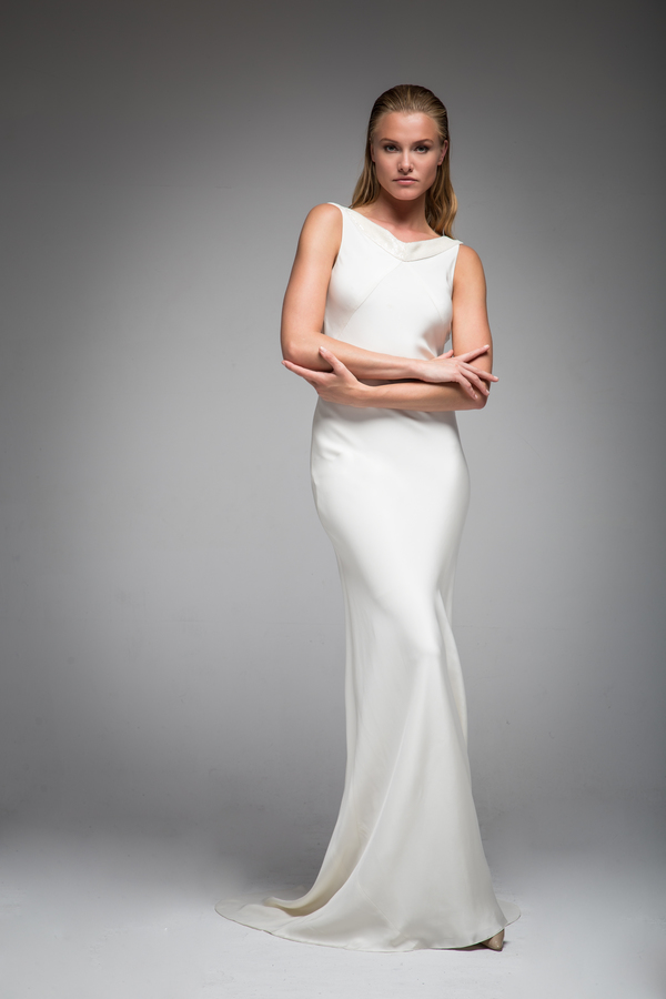Helen dress, sarah janks, bridal wear, elan collection