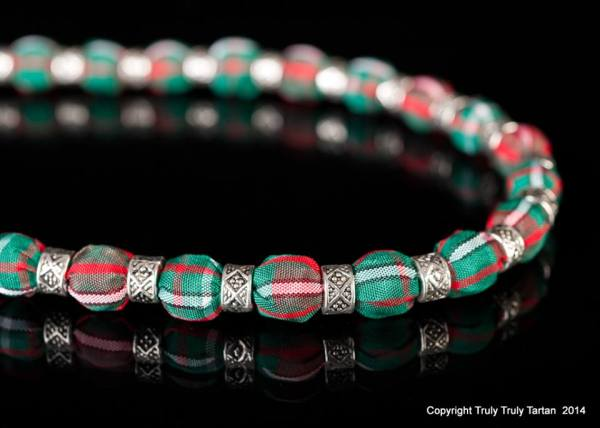 trish tracy, truly truly tartan, necklace, image - the studio BOW