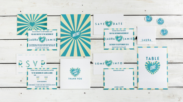 beaming collection, Photography Credits: Caitlin & Jones, modern wedding stationery, wedding stationery, contemporary wedding stationery, Paper Soul designs , wedding invitations, save the dates, table plans, thank you cards