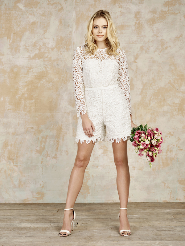 siddell playsuit, house of ollichon, bridal jumpsuits, bridal separates, luxury jumpsuits, luxury bridal jumpsuits